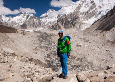 Ngozumbza Gletscher